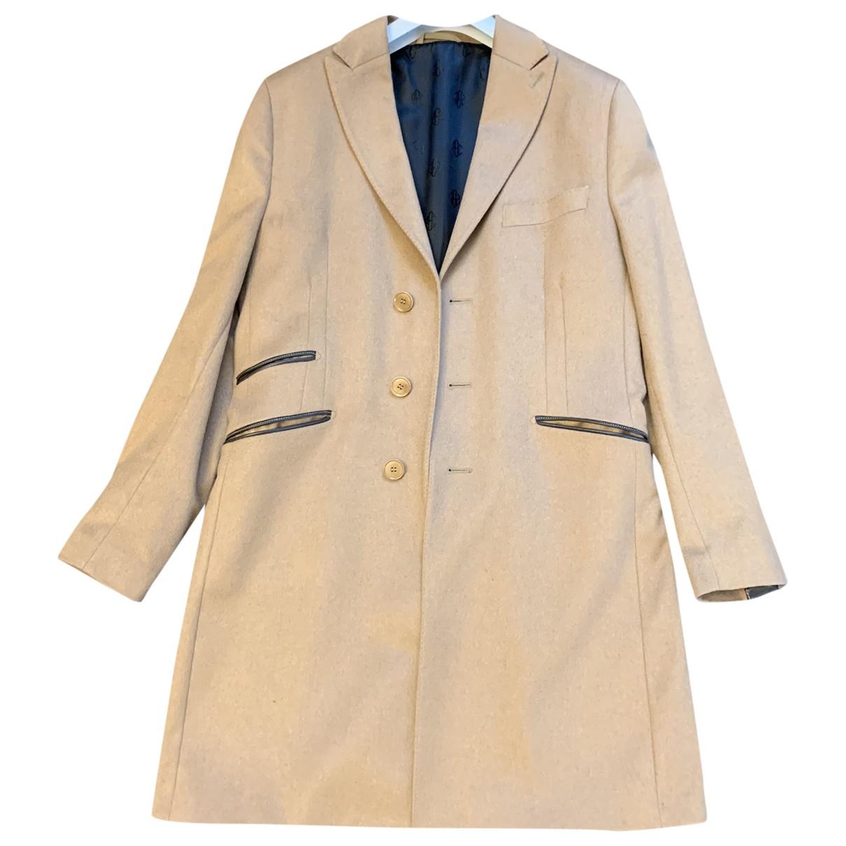 Non Signé / Unsigned \N Camel Cashmere coat  for Men 50 IT