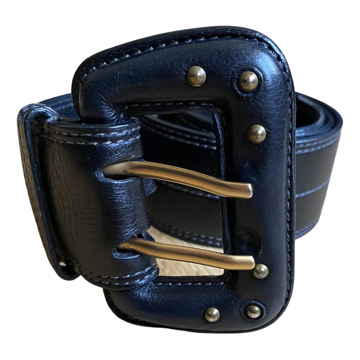 Chloé \N Black Leather belt for Women 85 cm