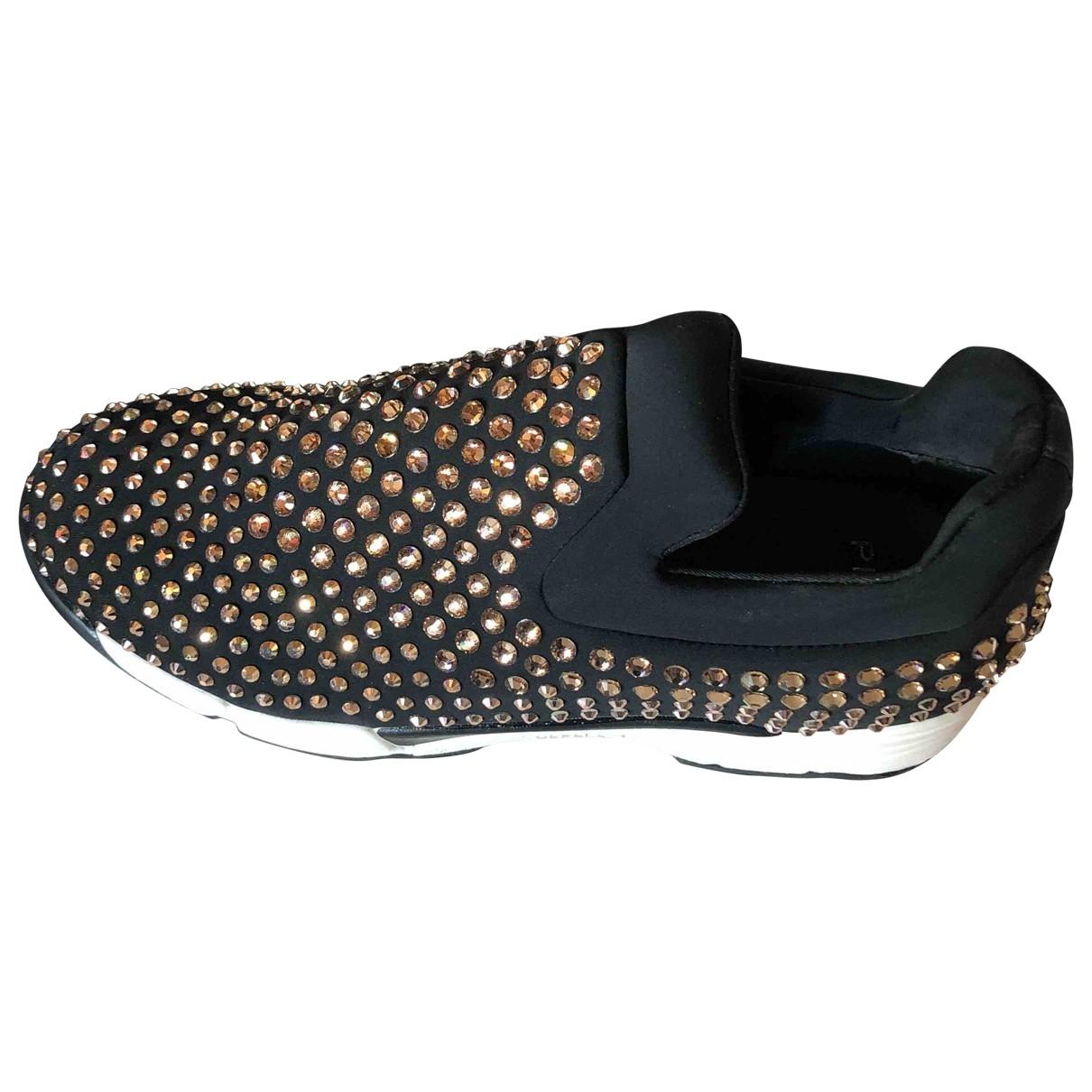 Pinko \N Sneakers in  Schwarz Polyester