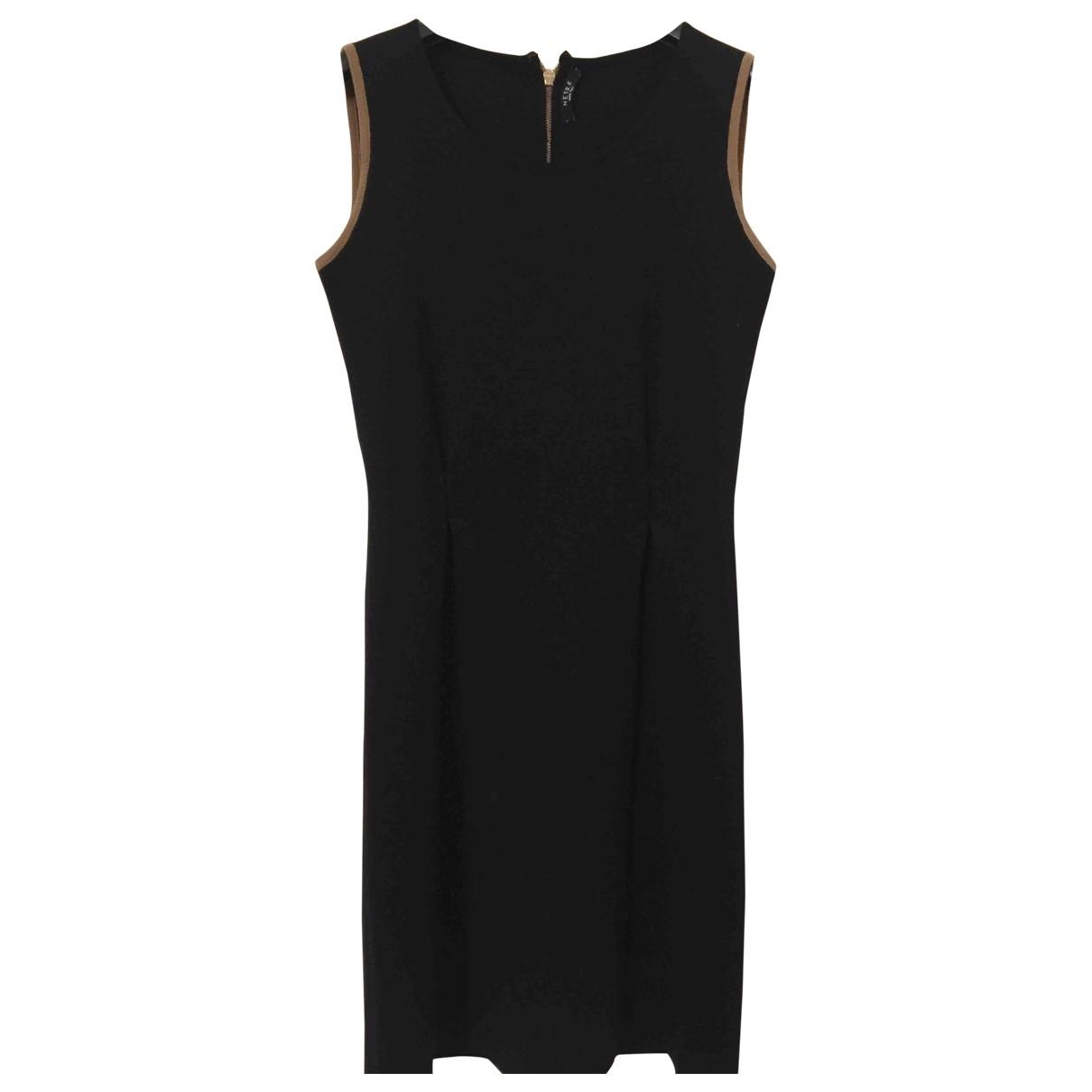Neera \N Kleid in  Schwarz Wolle