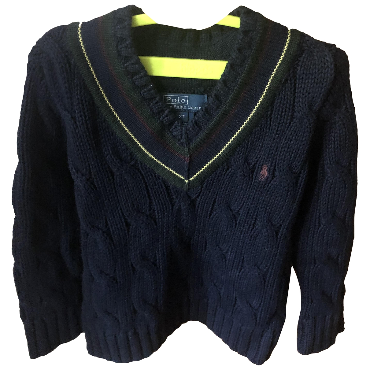 Polo Ralph Lauren \N Blue Cotton Knitwear for Kids 3 years - until 39 inches UK