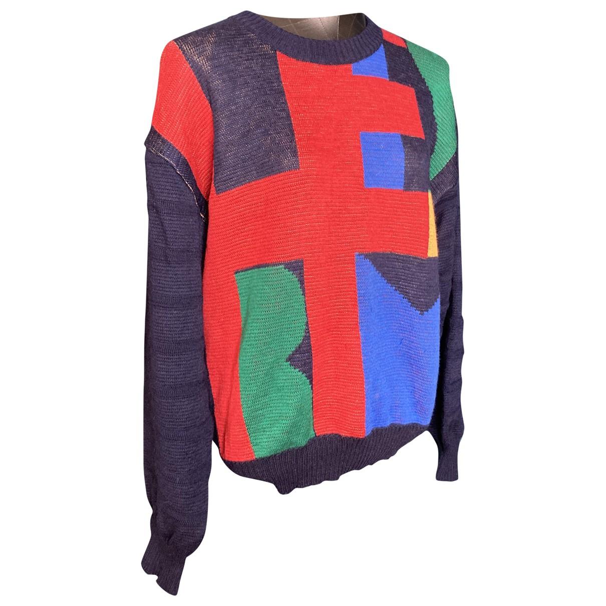 Hermes \N Pullover.Westen.Sweatshirts  in  Bunt Wolle