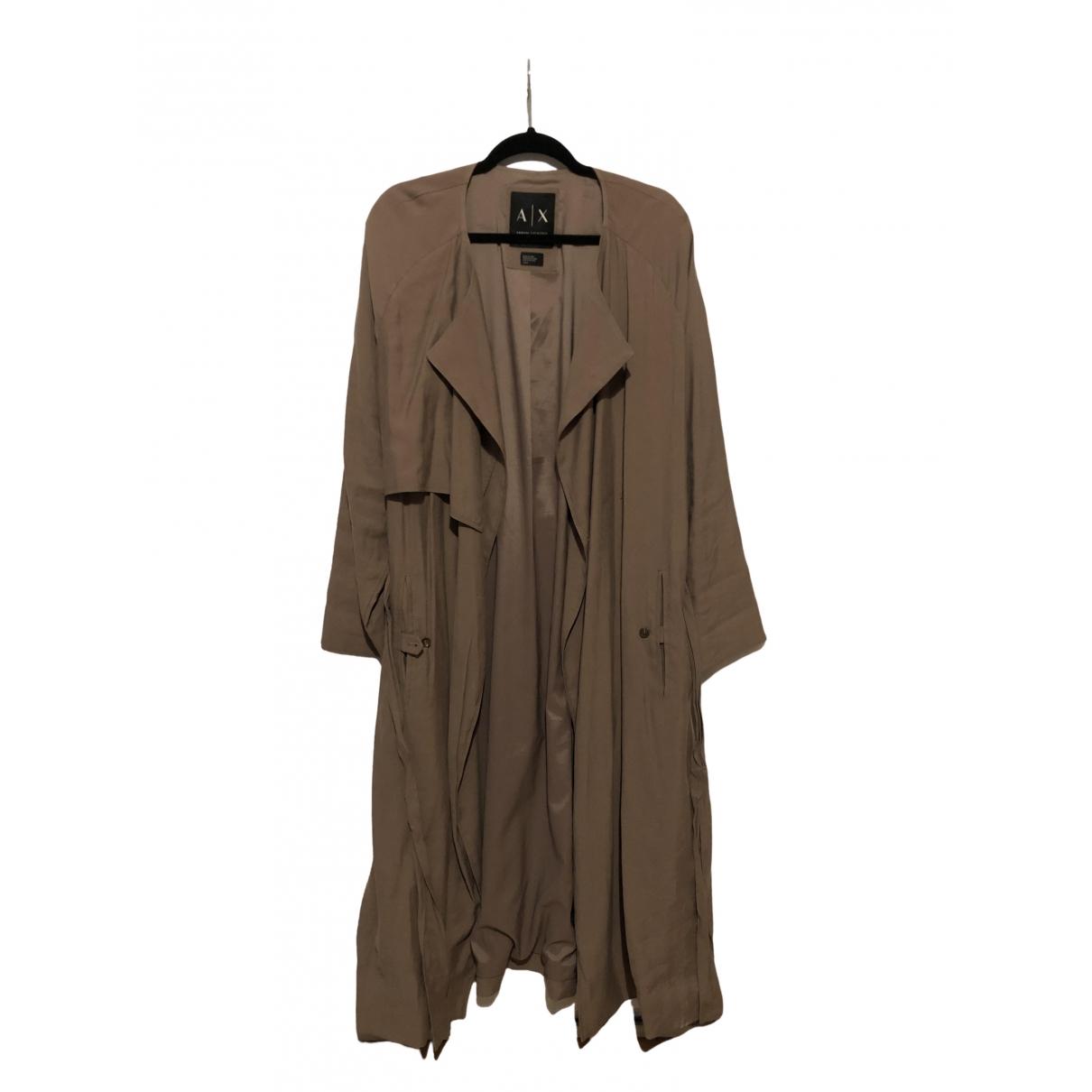 Emporio Armani - Manteau   pour femme - beige