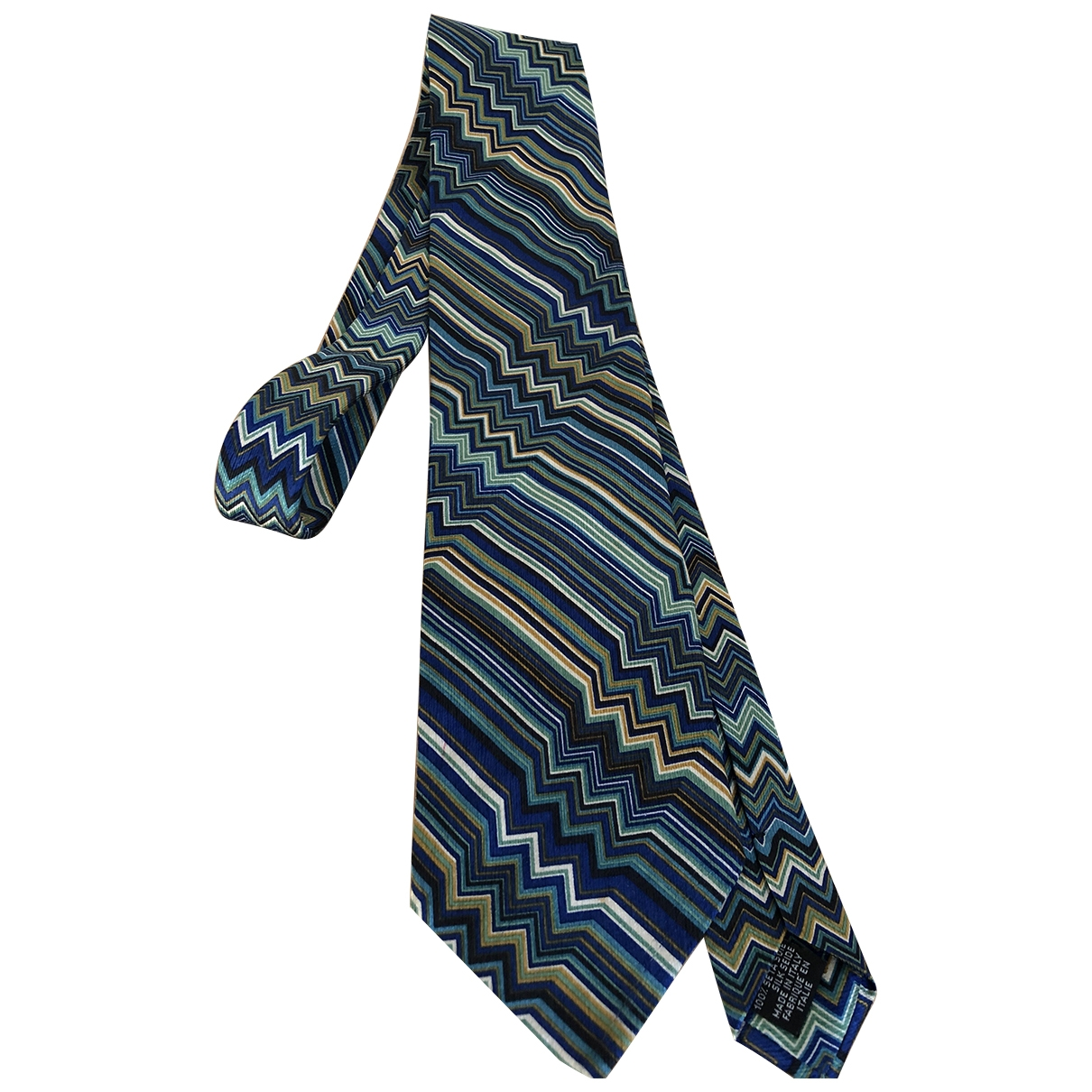 Missoni \N Krawatten in  Bunt Seide