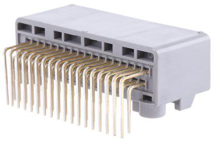 JAE , MX34, 36 Way, 2 Row, Right Angle PCB Header