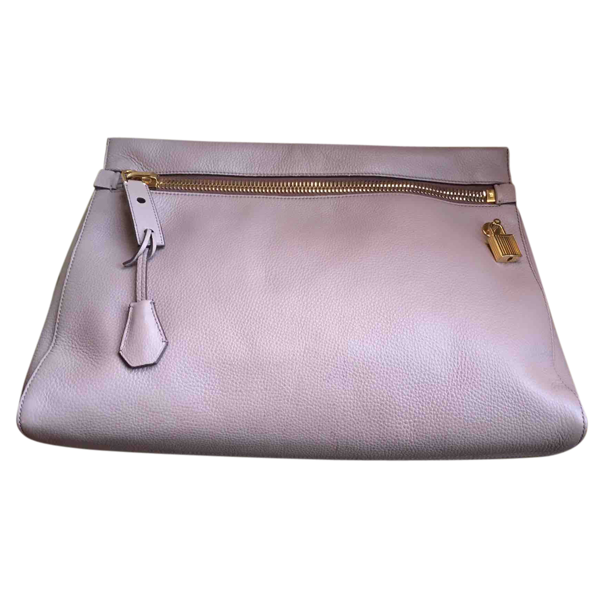 Tom Ford Alix Pink Leather Clutch bag for Women N