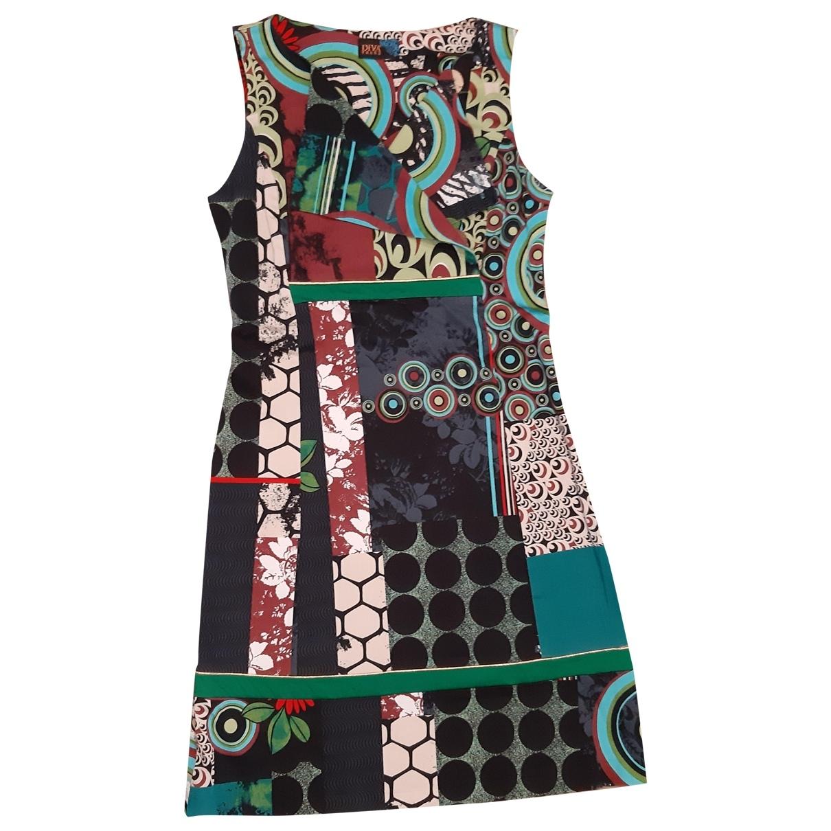 Non Signé / Unsigned \N Multicolour Cotton dress for Women M International