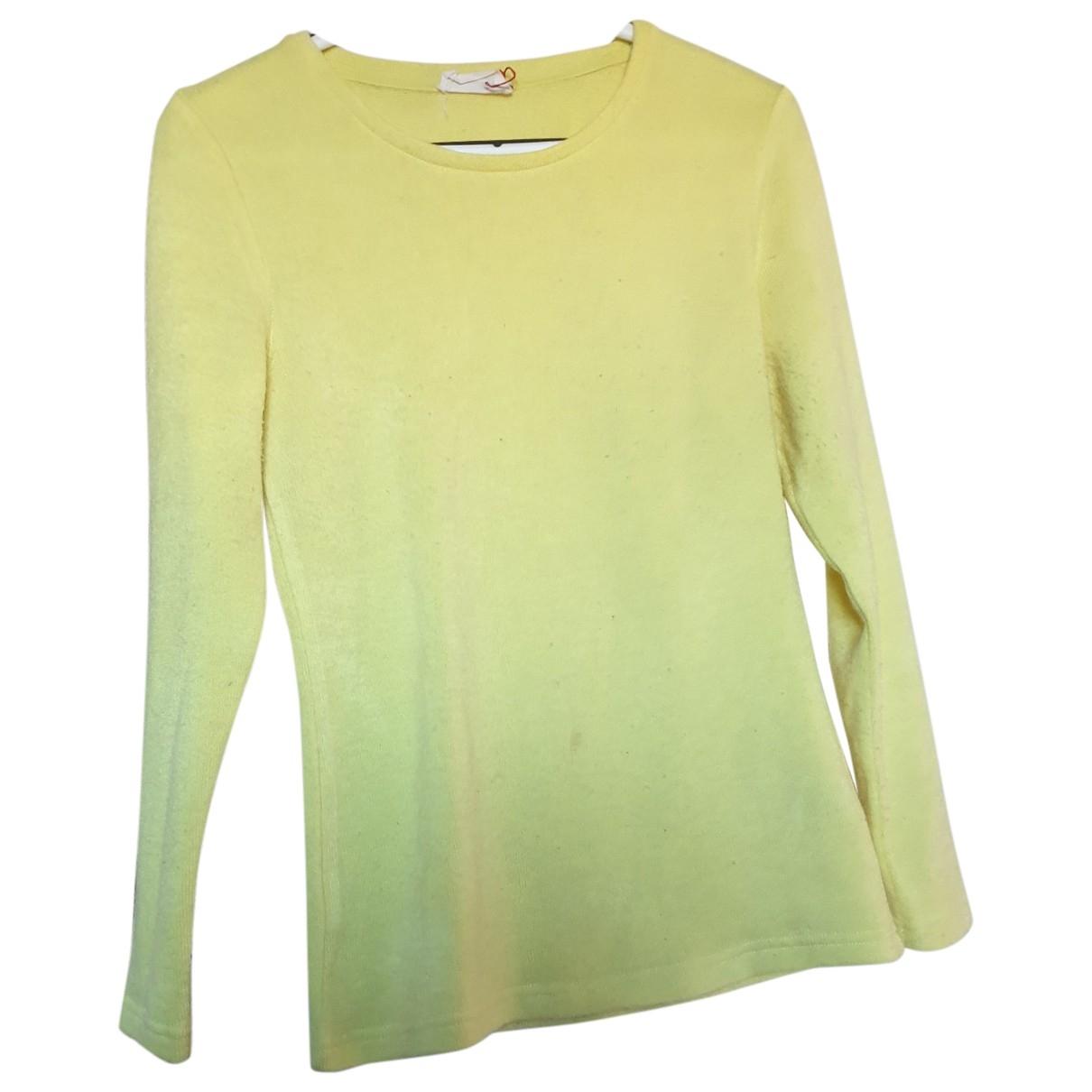 American Vintage \N Pullover in  Gelb Synthetik