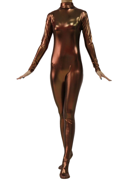 Milanoo Disfraz Halloween Cosplay de marron oscuro fibra de poliester para adultos Halloween Carnaval Halloween