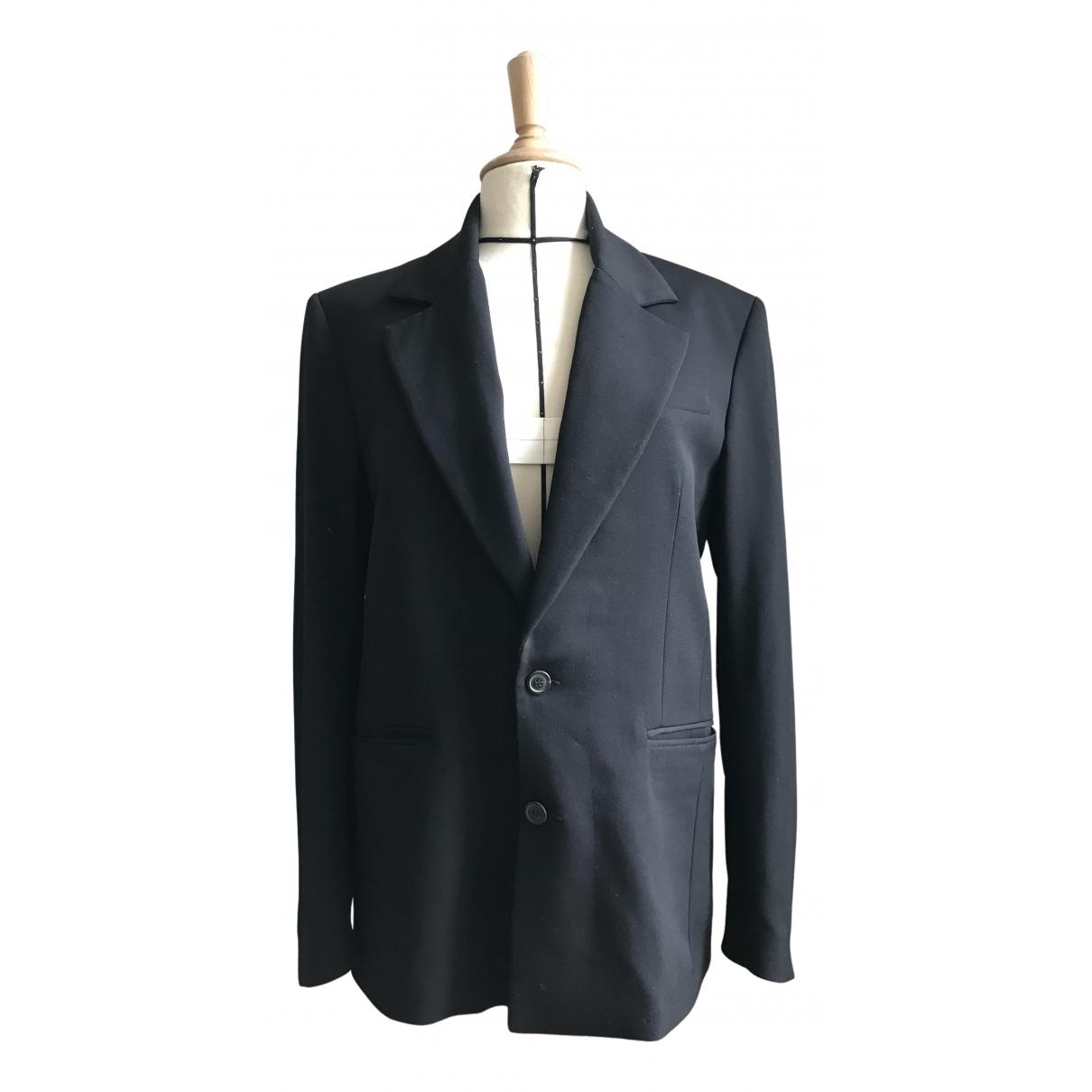Y/project - Vestes.Blousons   pour homme en laine - noir