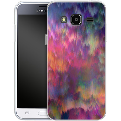 Samsung Galaxy J3 (2016) Silikon Handyhuelle - Sunset Storm von Amy Sia