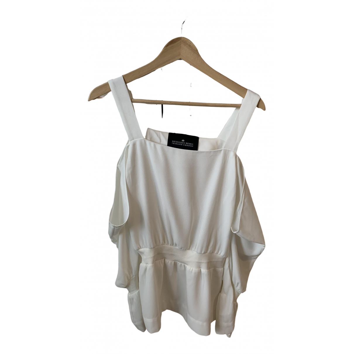 Designers Remix \N White  top for Women 6 UK