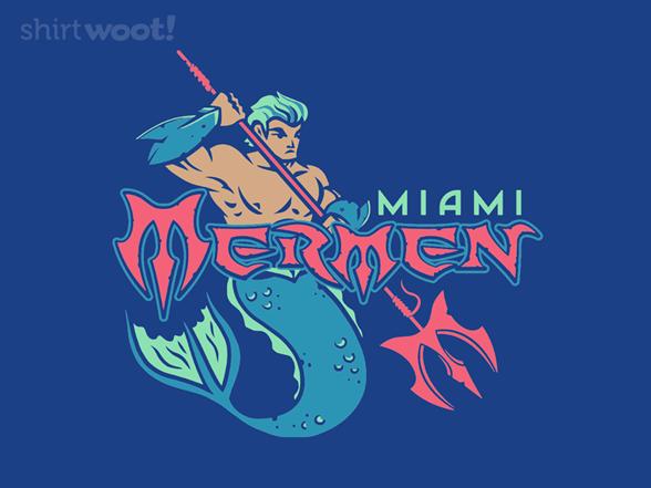 Miami Mermen T Shirt