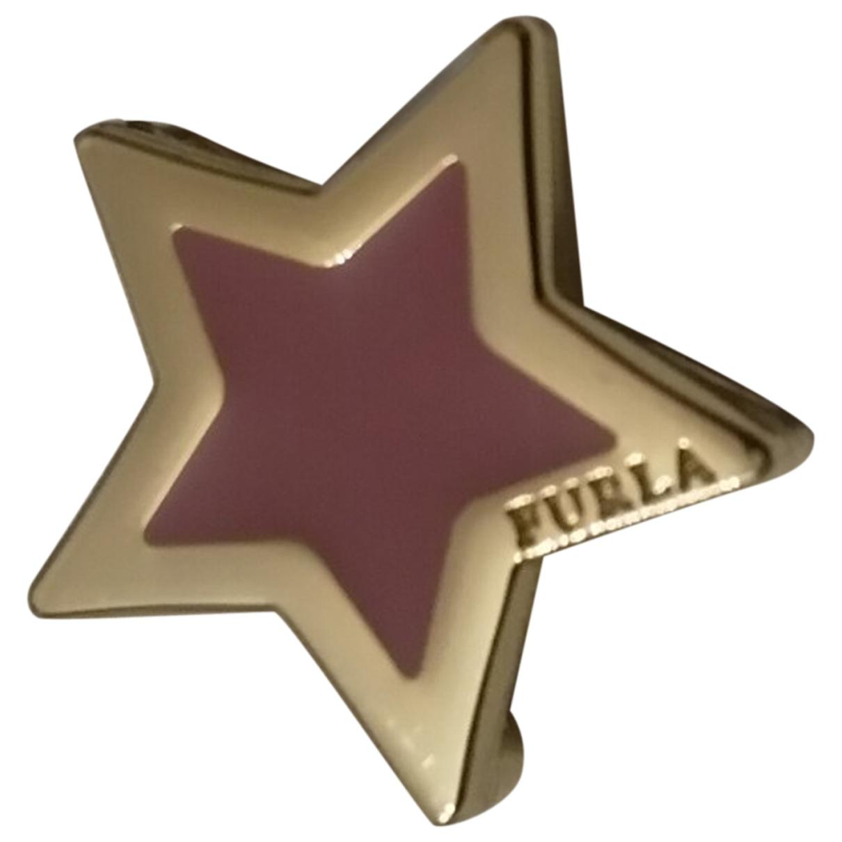 Furla \N Pink Metal bracelet for Women \N