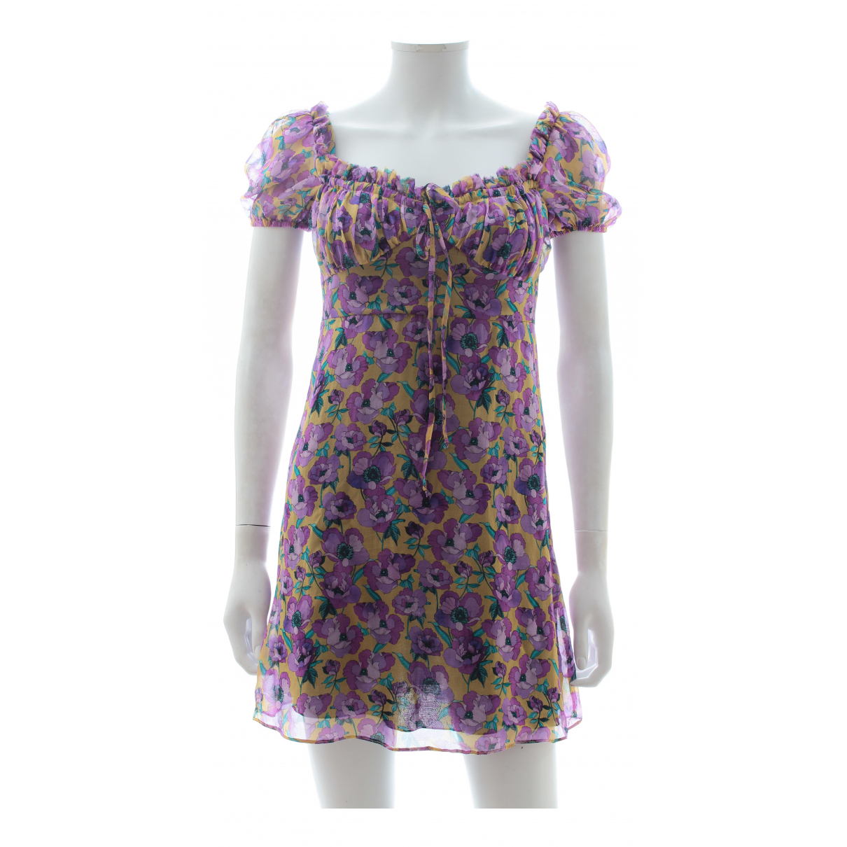 Raquel Diniz \N Purple Silk dress for Women 38 IT