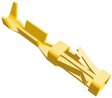 TE Connectivity , AMPMODU Short Point Female Crimp Terminal Contact 28AWG 1-104481-1 (100)