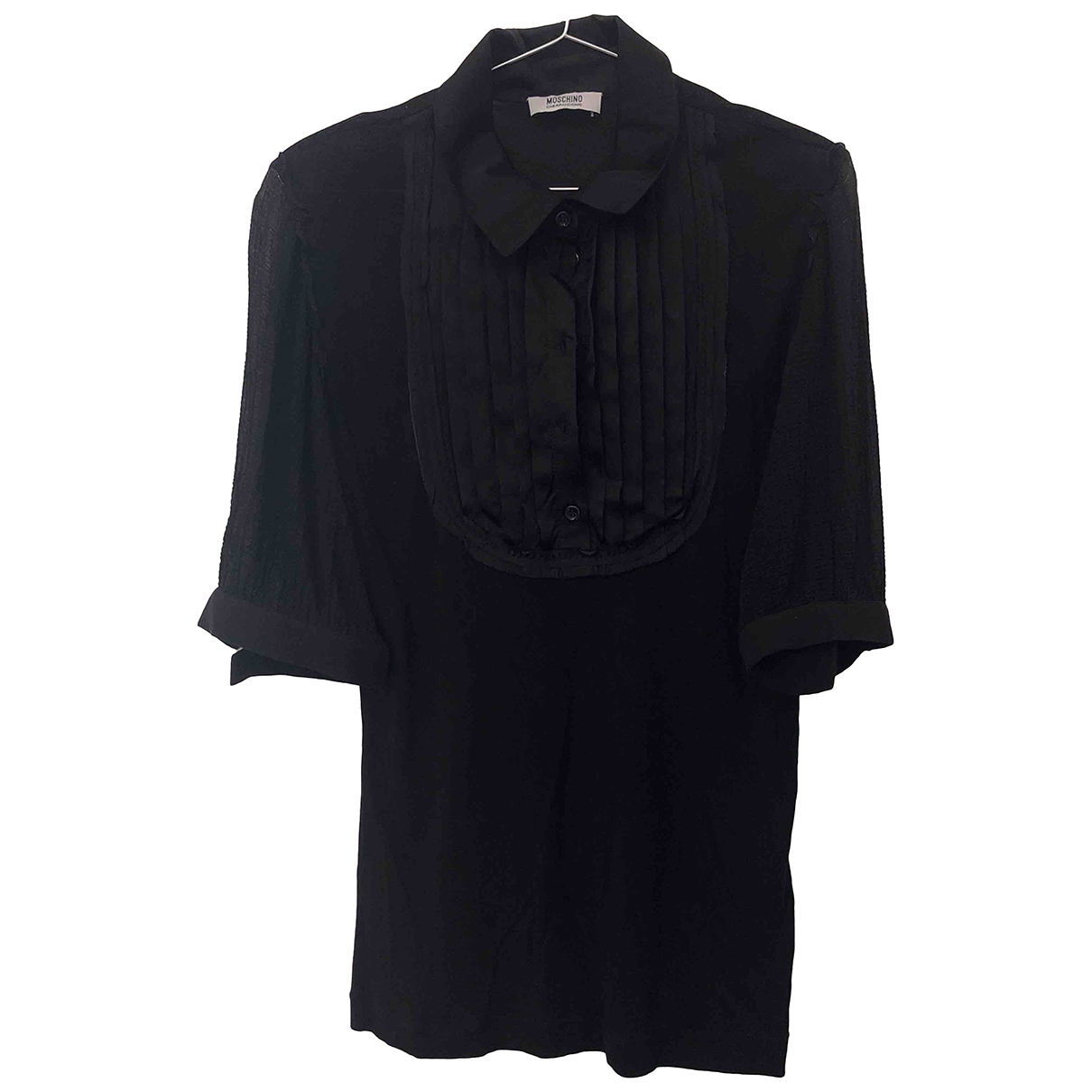 Moschino Cheap And Chic \N Top in  Schwarz Baumwolle