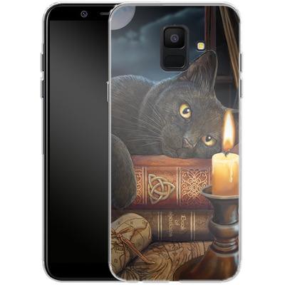 Samsung Galaxy A6 Silikon Handyhuelle - Witching Hour von Lisa Parker