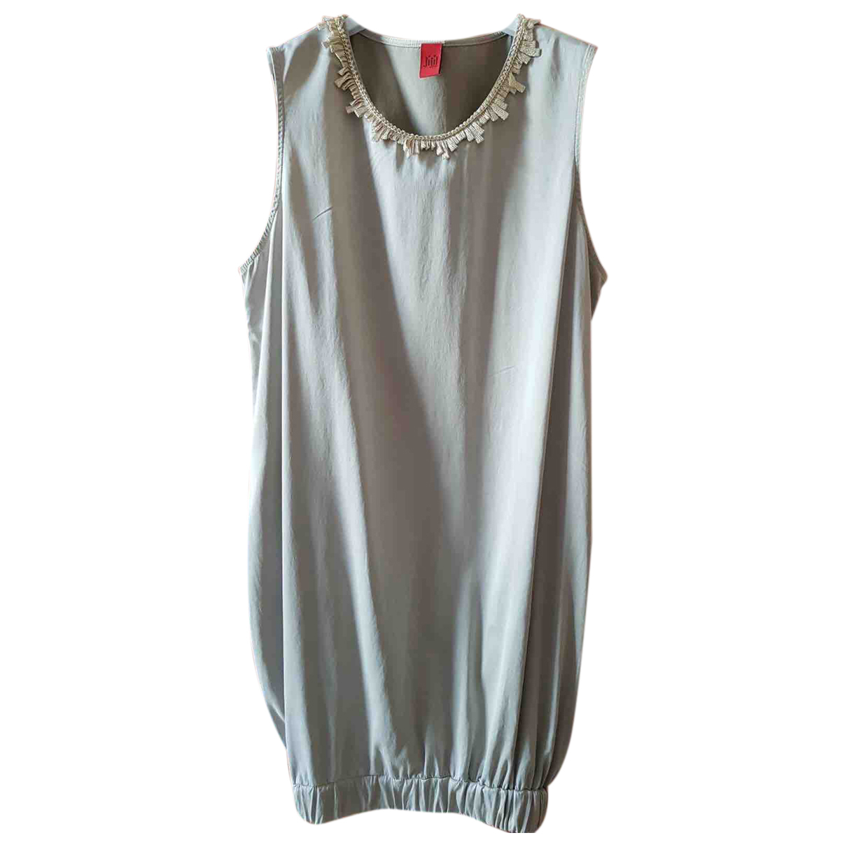 Jijil \N Kleid in  Beige Baumwolle