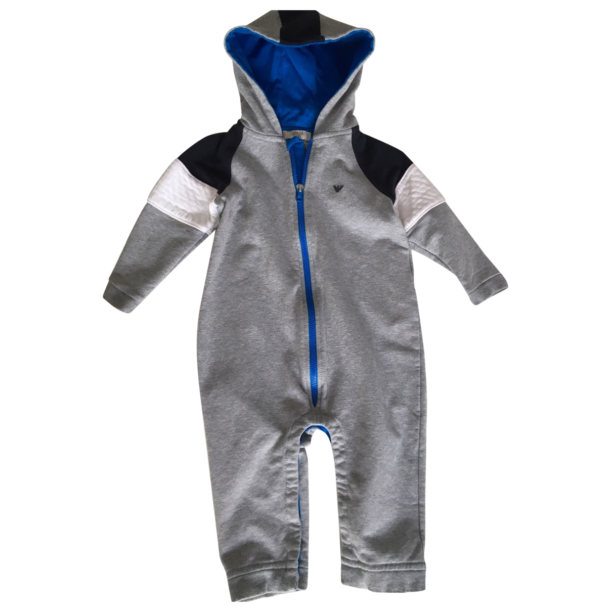 Armani Baby \N Grey Cotton jacket & coat for Kids 12 months - up to 74cm FR