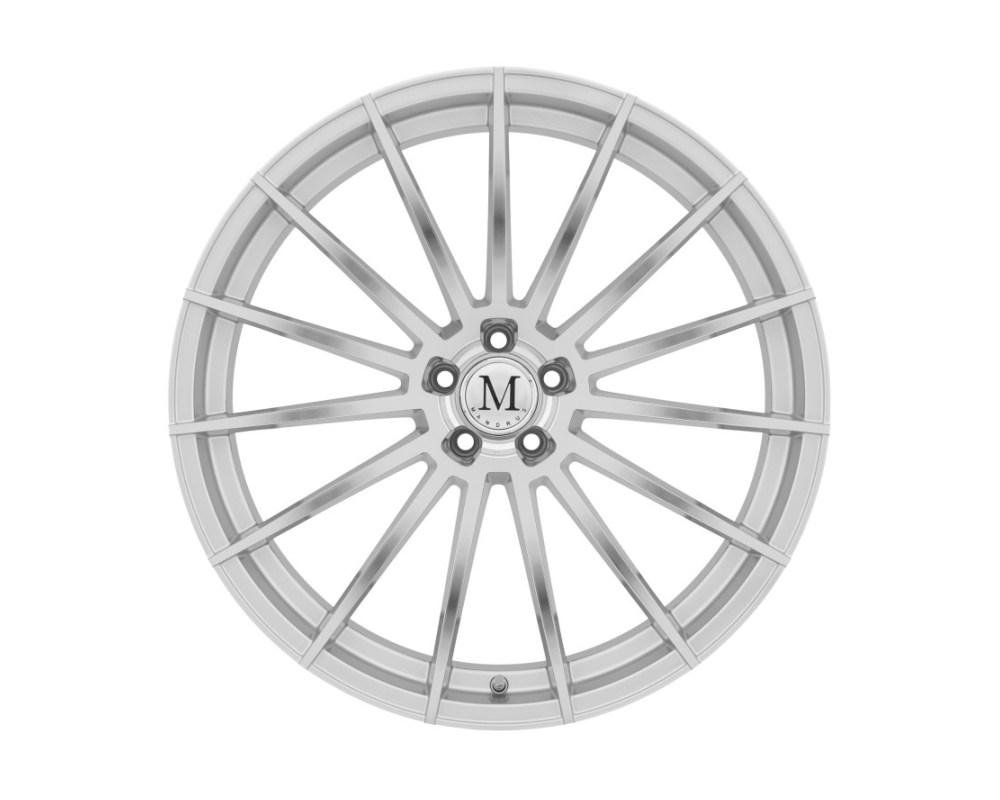 Mandrus Stirling Wheel 22x11.5 5x112 32mm Silver w/ Mirror Cut Face