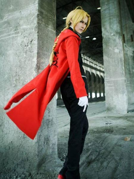 Milanoo Fullmetal Alchemist Edward Elric Halloween Cosplay Costume