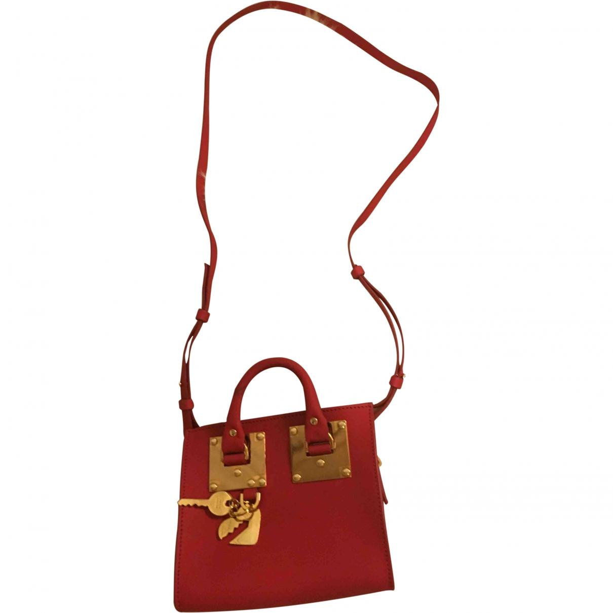 Sophie Hulme \N Red Leather handbag for Women \N
