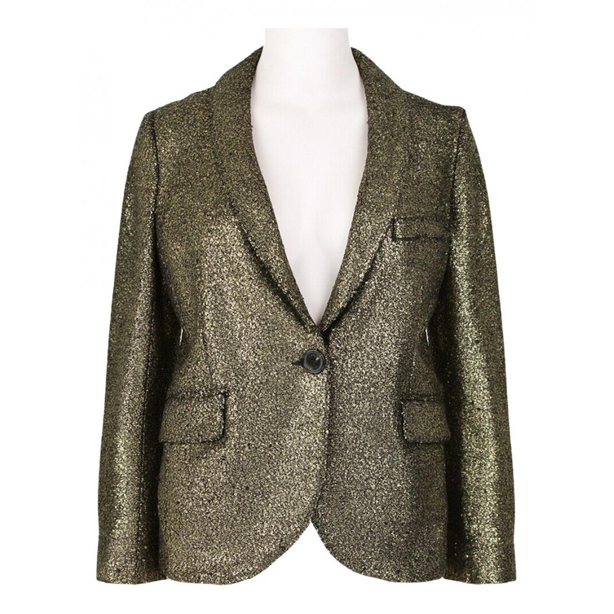 Sonia Rykiel N Gold jacket for Women XS International
