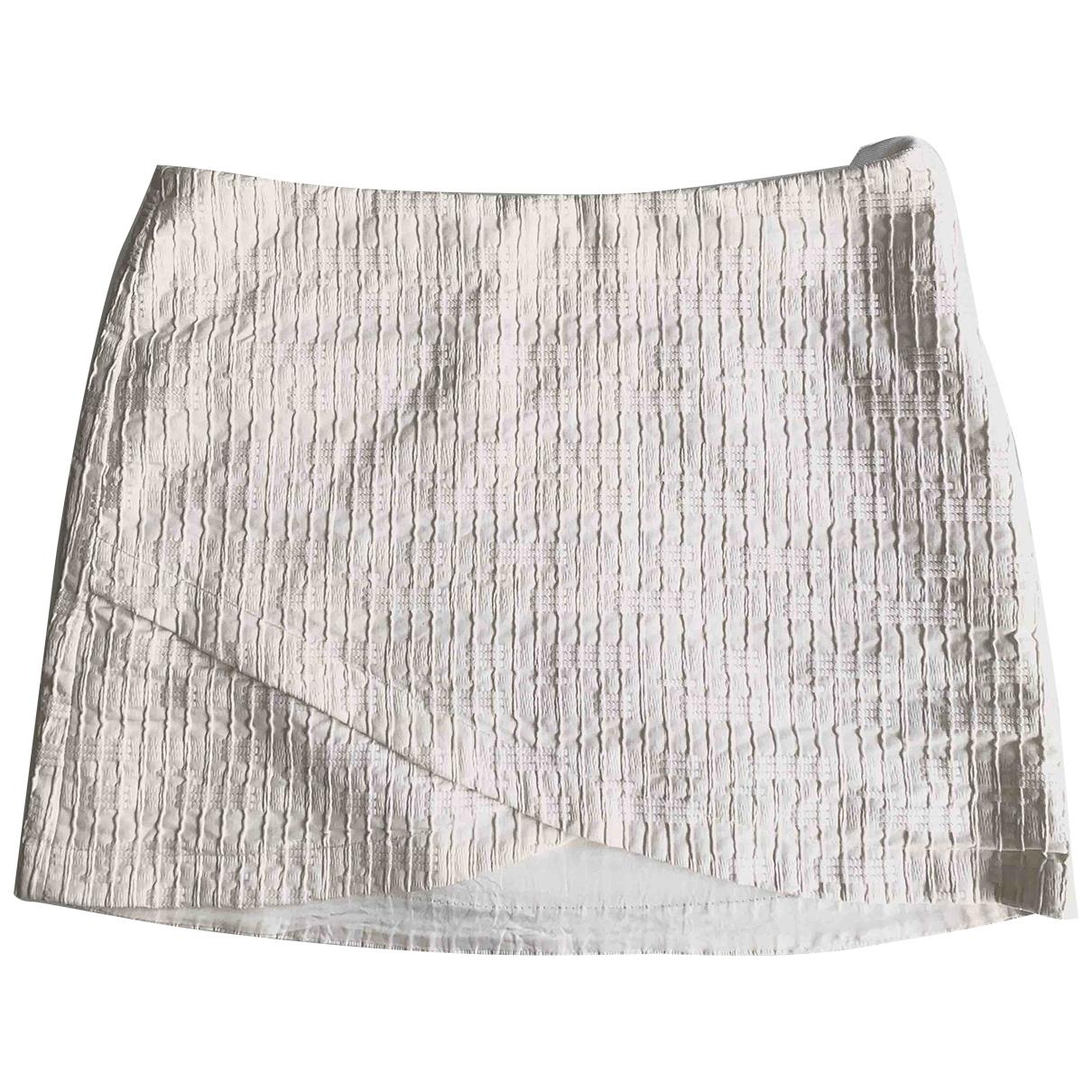 Vanessa Bruno - Jupe   pour femme en coton - blanc