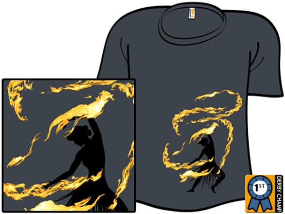 Fire Dancer T Shirt