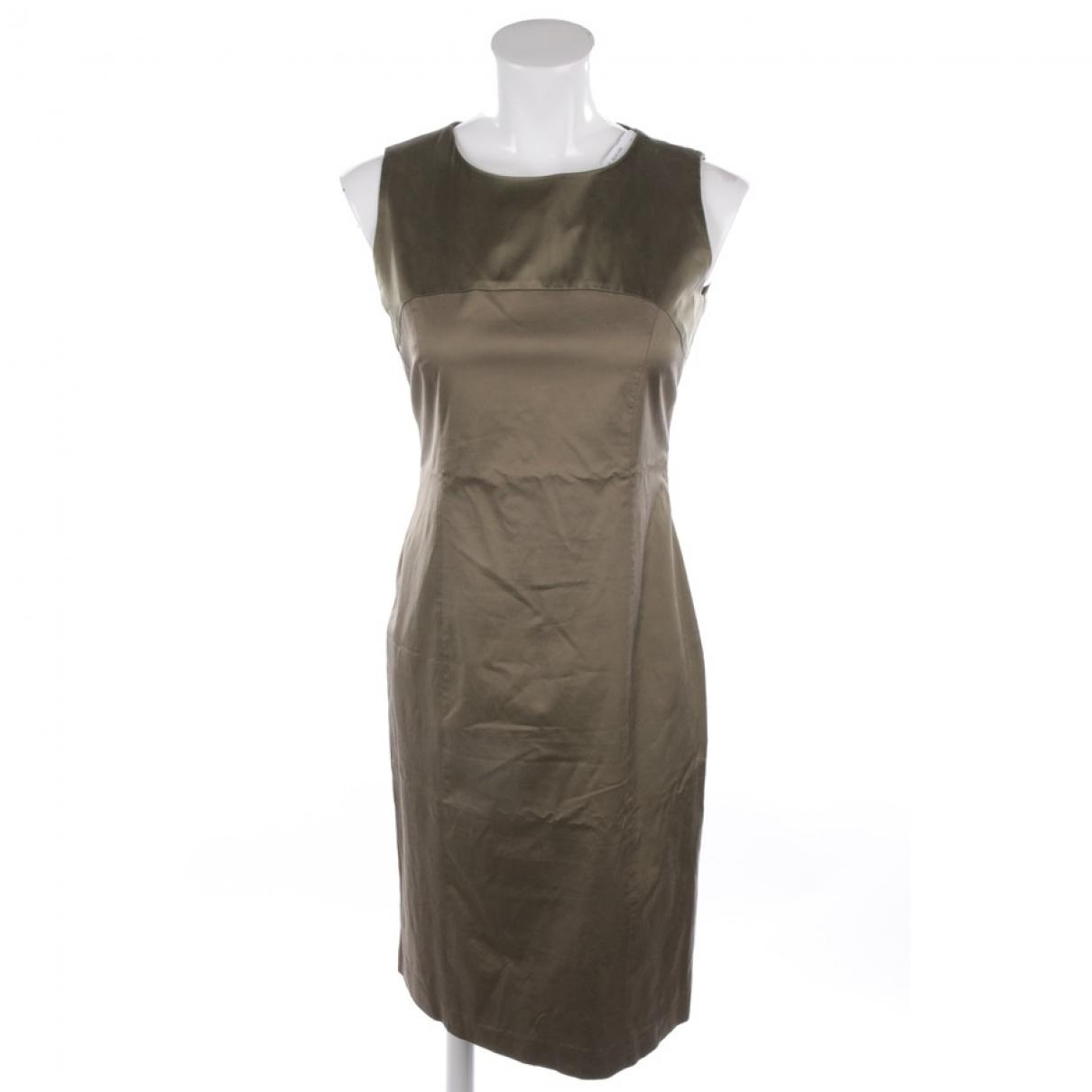 Etro \N Kleid in  Gruen Baumwolle