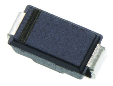 ON Semiconductor ON Semi 400V 1A, Silicon Junction Diode, 2-Pin DO-214AC S1G (50)