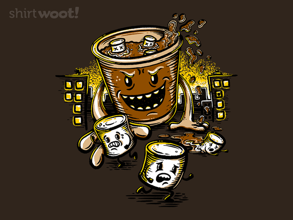 Hot Cocoa Monster T Shirt
