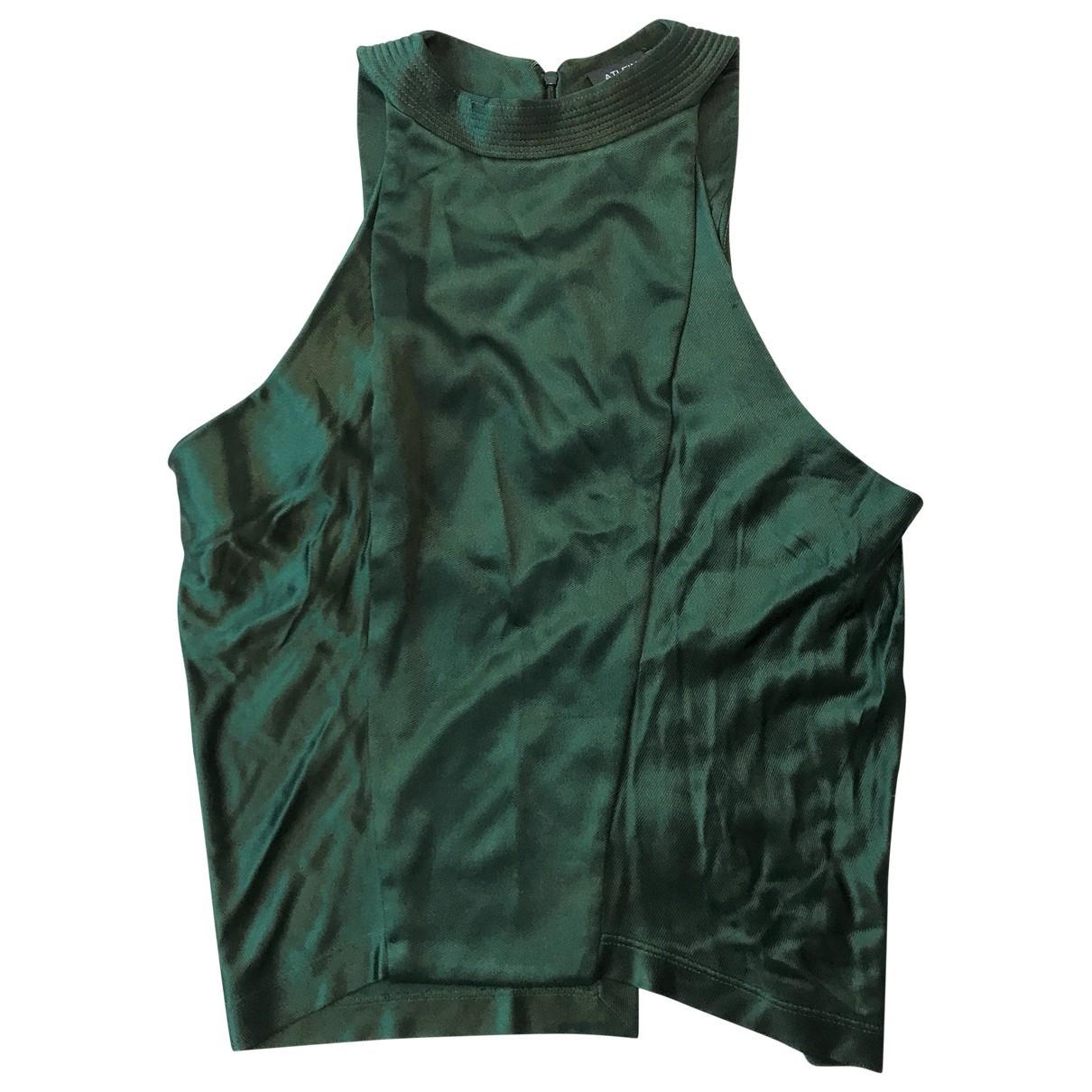 Atlein \N Green  top for Women 36 FR
