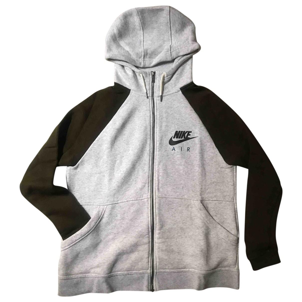 Nike - Pulls.Gilets.Sweats   pour homme en coton - gris