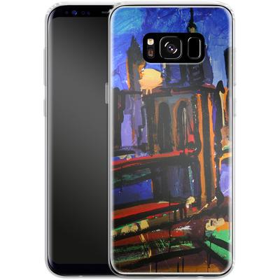 Samsung Galaxy S8 Silikon Handyhuelle - Alive At Night von Tom Christopher
