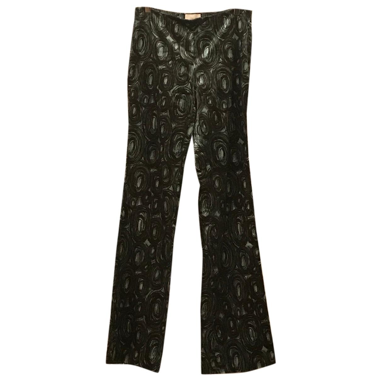 Iceberg N Brown Velvet Trousers for Women 42 IT