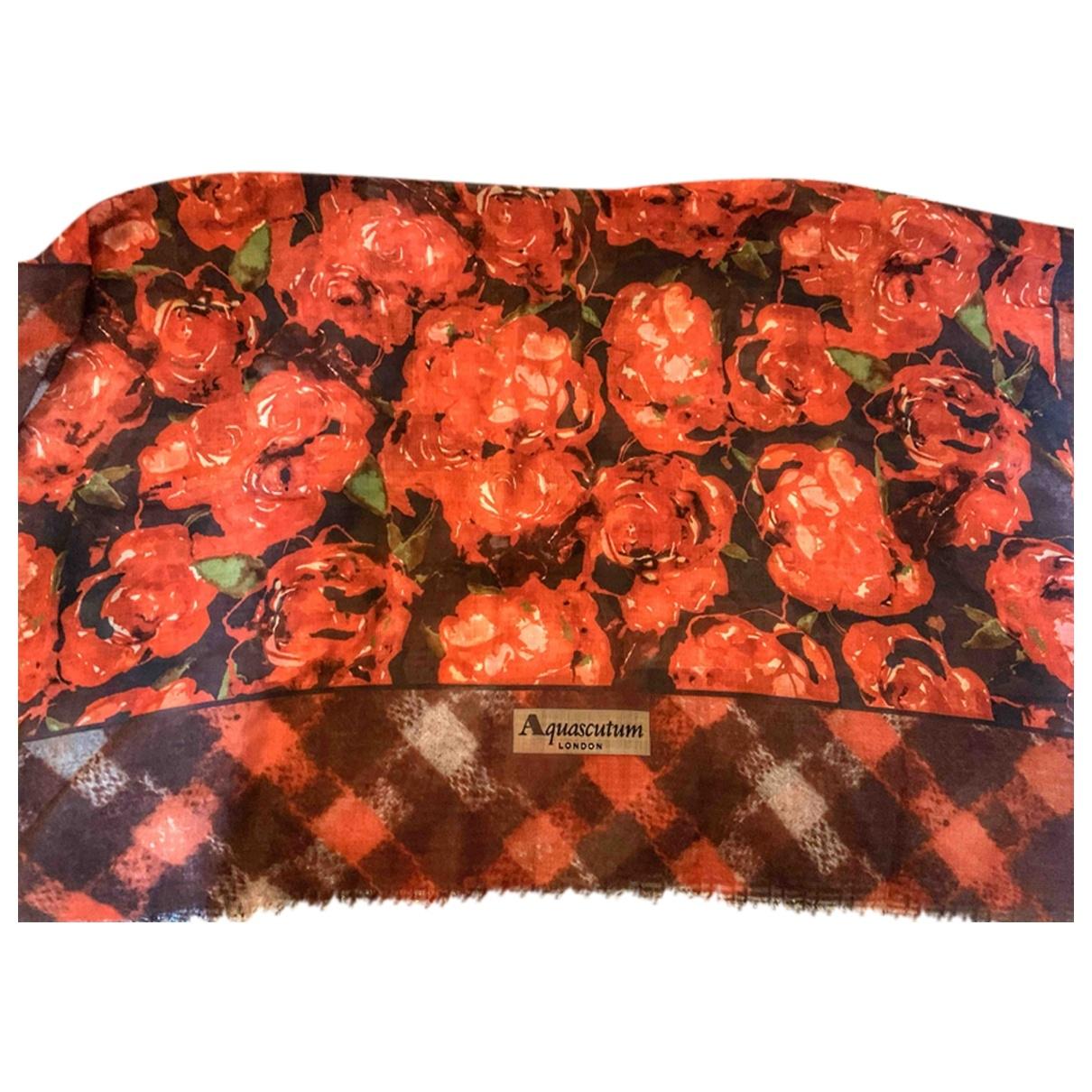 Aquascutum \N Red Cashmere scarf for Women \N
