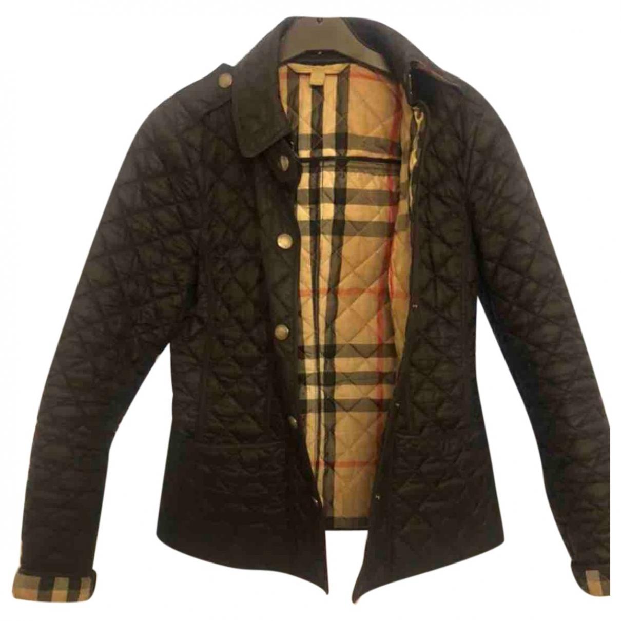 Burberry \N Black jacket for Women S International