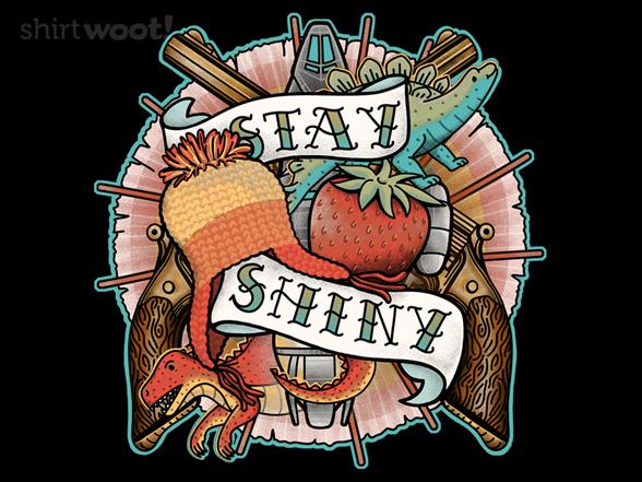 Stay Shiny T Shirt