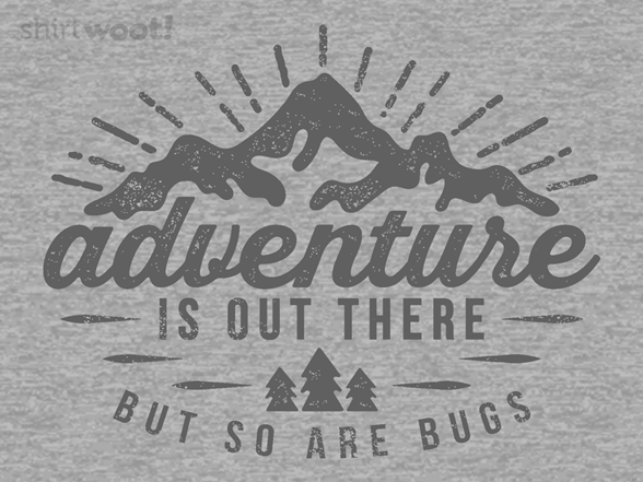 Adventure And Bugs T Shirt
