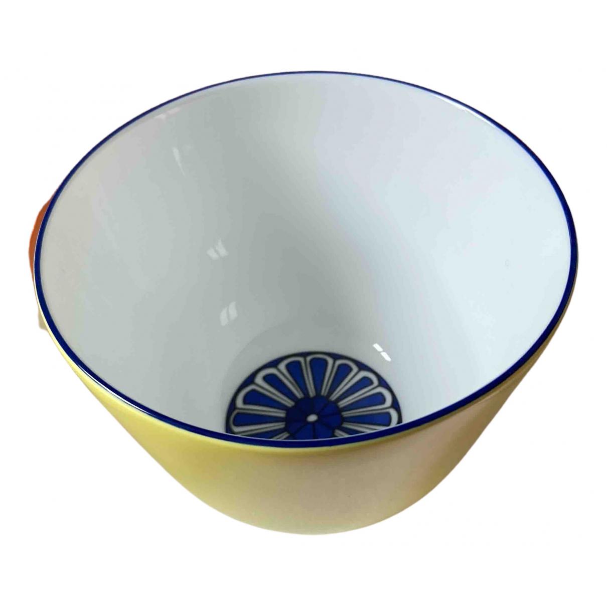 Hermes - Arts de la table Bleus dailleurs pour lifestyle en ceramique - jaune