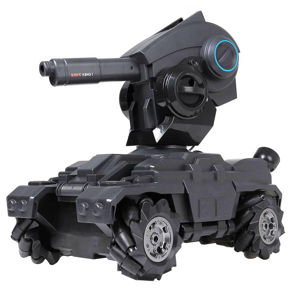 SMRC M10 1:10 2.4G Water Bombs Battle Drift Tank 10km/h High-speed 360 Degree Rotating Indoor RC Tank - Two Batteries