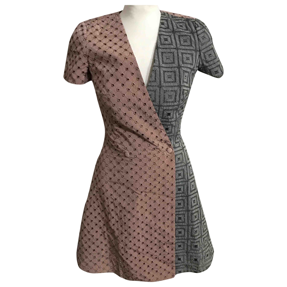 Marco De Vincenzo \N Kleid in Baumwolle
