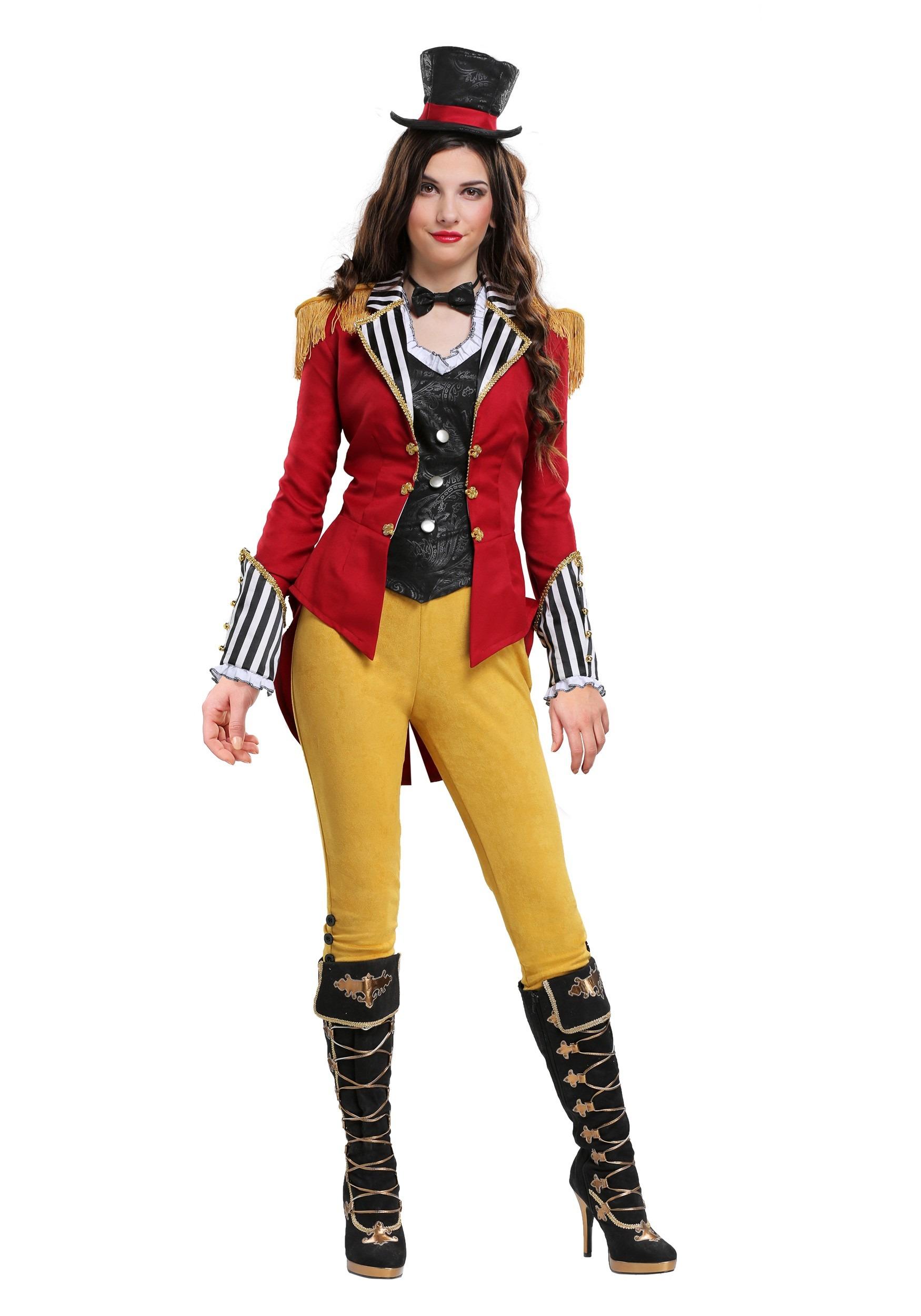 Ravishing Ringmaster Plus Size Costume for Women 1X 2X