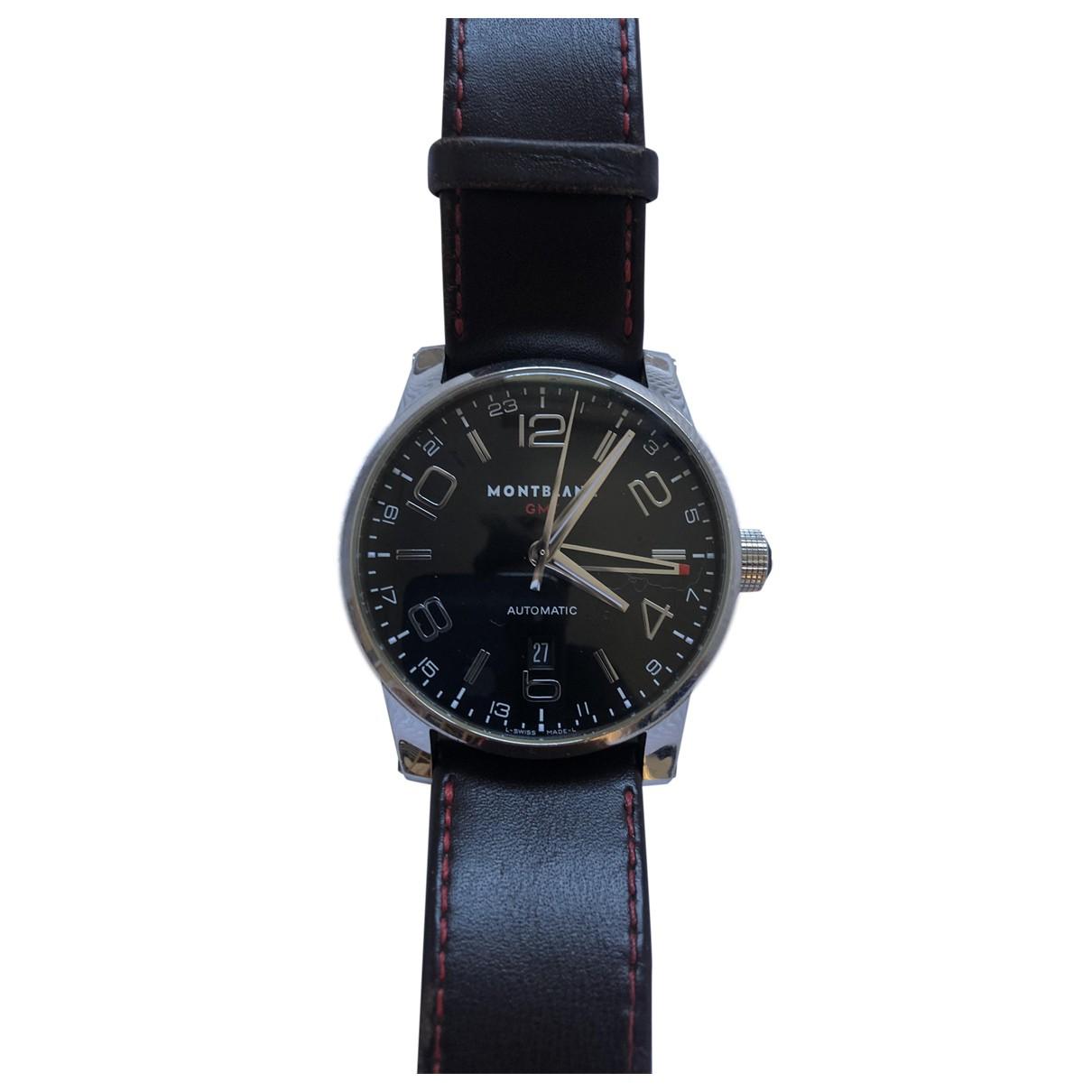 Montblanc Timewalker Steel watch for Men N