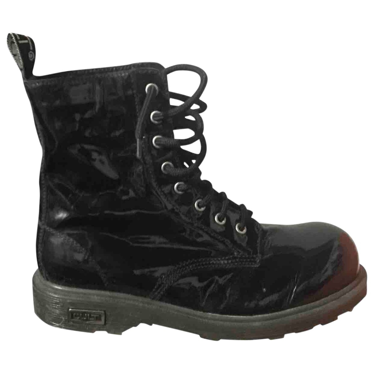 Non Signé / Unsigned \N Black Boots for Women 40 IT