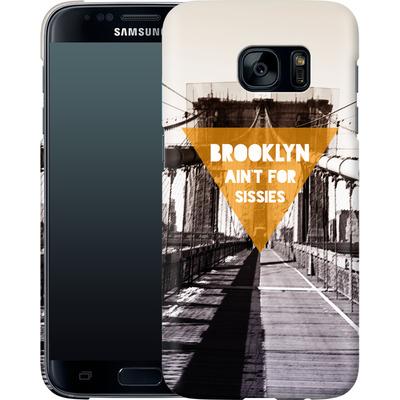 Samsung Galaxy S7 Smartphone Huelle - BKLYN Aint For Sissies von Statements