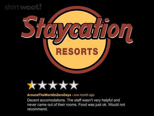 Resort Review T Shirt
