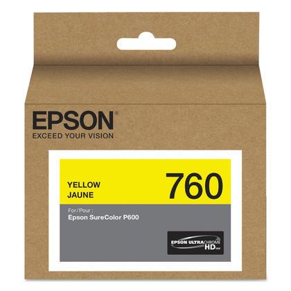 Epson 760 T760420 cartouche d'encre originale jaune